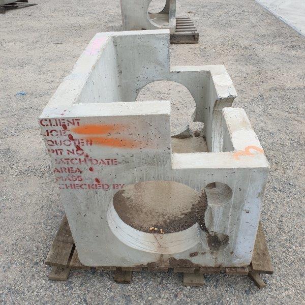 Concrete Rain Drain Pit