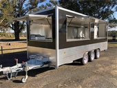 New Food Vending Trailers