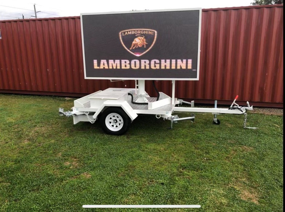 New 2019 Variable Message Sign (VMS) Full Colour Sign Trailer