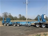 2013 SWMS Quadaxle Drill Rig Coil Carrier Trailer