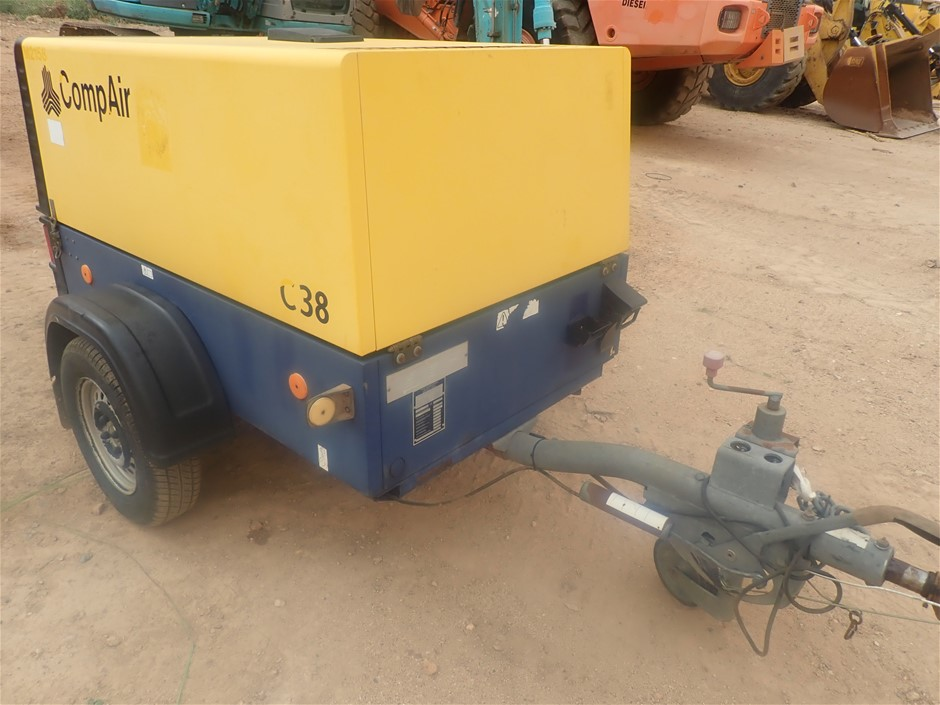 Compair C38 , DLT 0406 Compressor