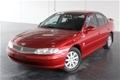 Unreserved 2001 Holden Berlina VX Automatic