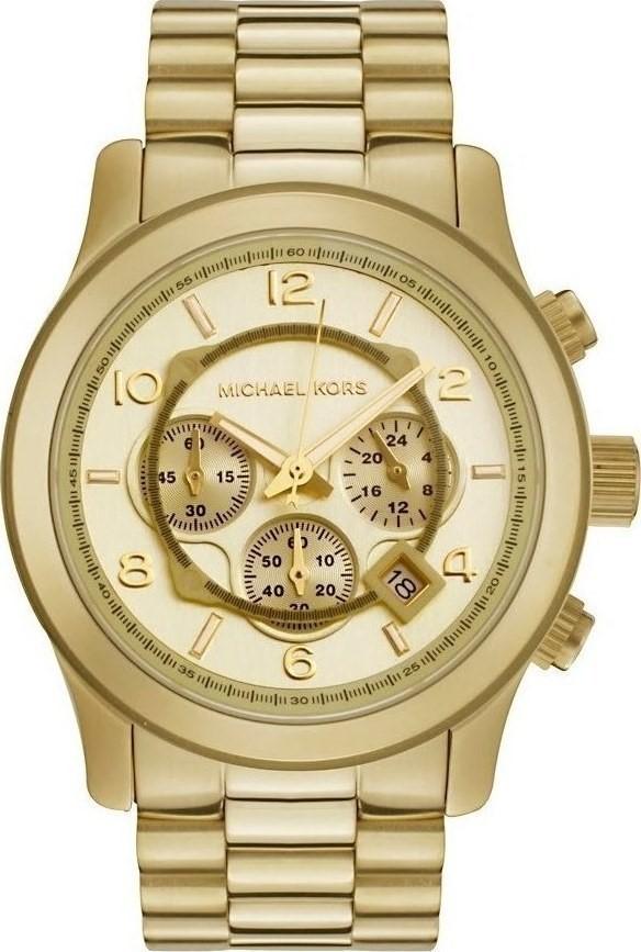 Stylish new Michael Kors Runway Gold-tone Men's Watch