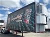 <B>1999 Barker 10 Pallet Refrigerated Curtainsider A Trailer</B>