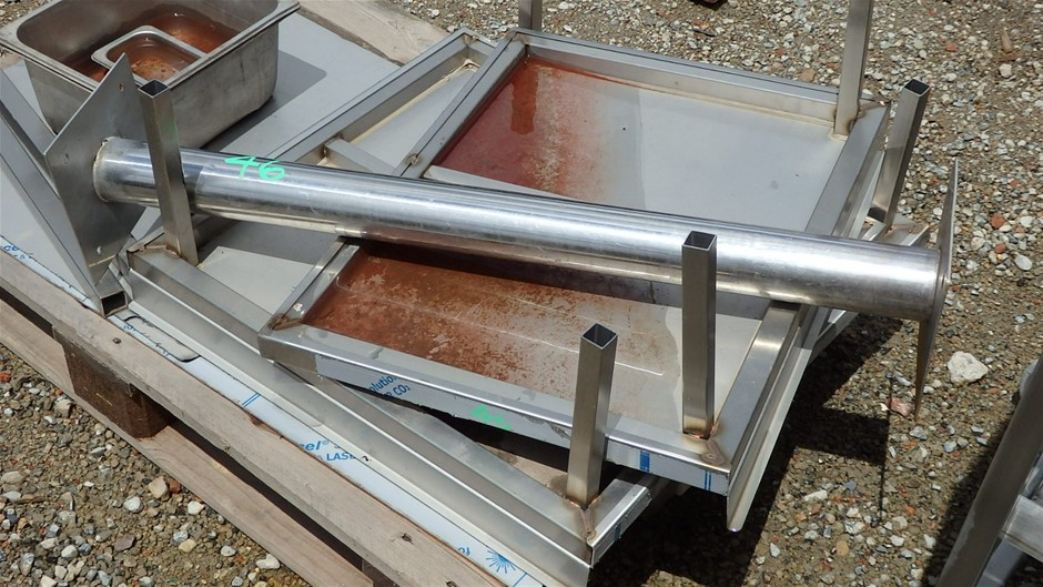 Pallet of Assorted Stainless Steel Items Auction (0046 ...