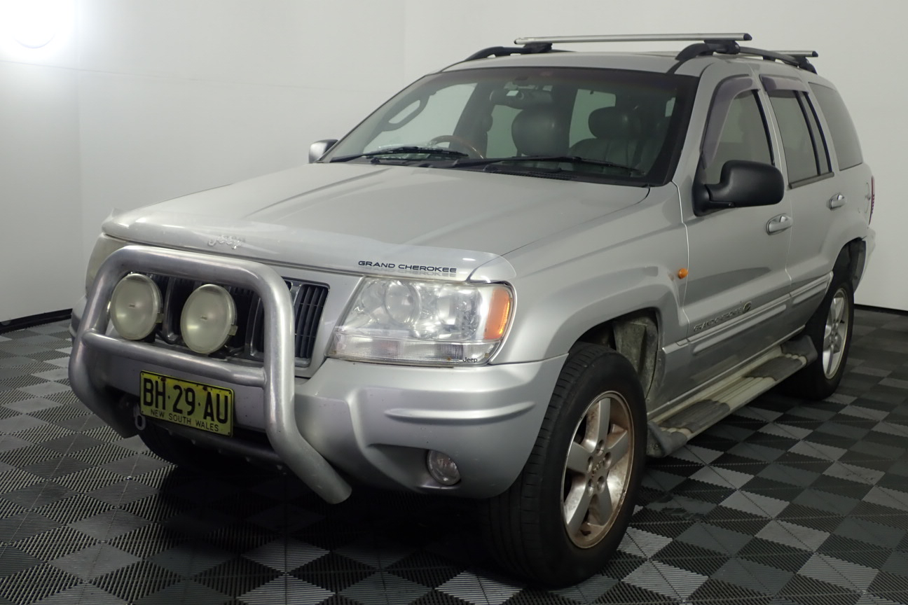 2004 Jeep Grand Cherokee Overland (4x4) WG Turbo Diesel Automatic Wagon