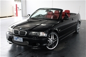 Unreserved 2002 BMW 3 30Ci E46 Automatic