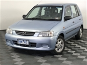 Unreserved 2000 Mazda 121 Metro Shades DW