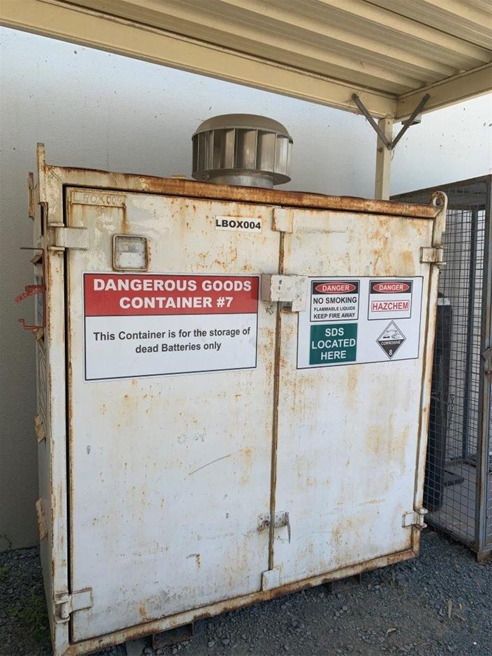 Hazardous Goods Container
