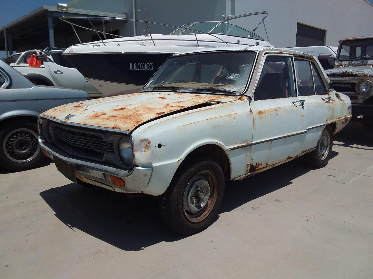 11/1974 Mazda 1300 Manual Sedan
