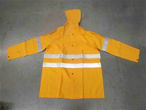 Qty of Yellow PVC Raincoats - Assorted S