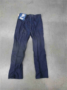 111 Pairs of Blue Work Trousers Comprisi