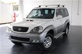 Unreserved 2005 Hyundai Terracan CRDi T/Diesel Auto 7 Seats