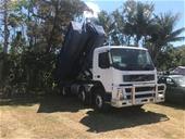 2003 Volvo FM12-380 Hooklift Truck & OSMA Forestry Mulcher