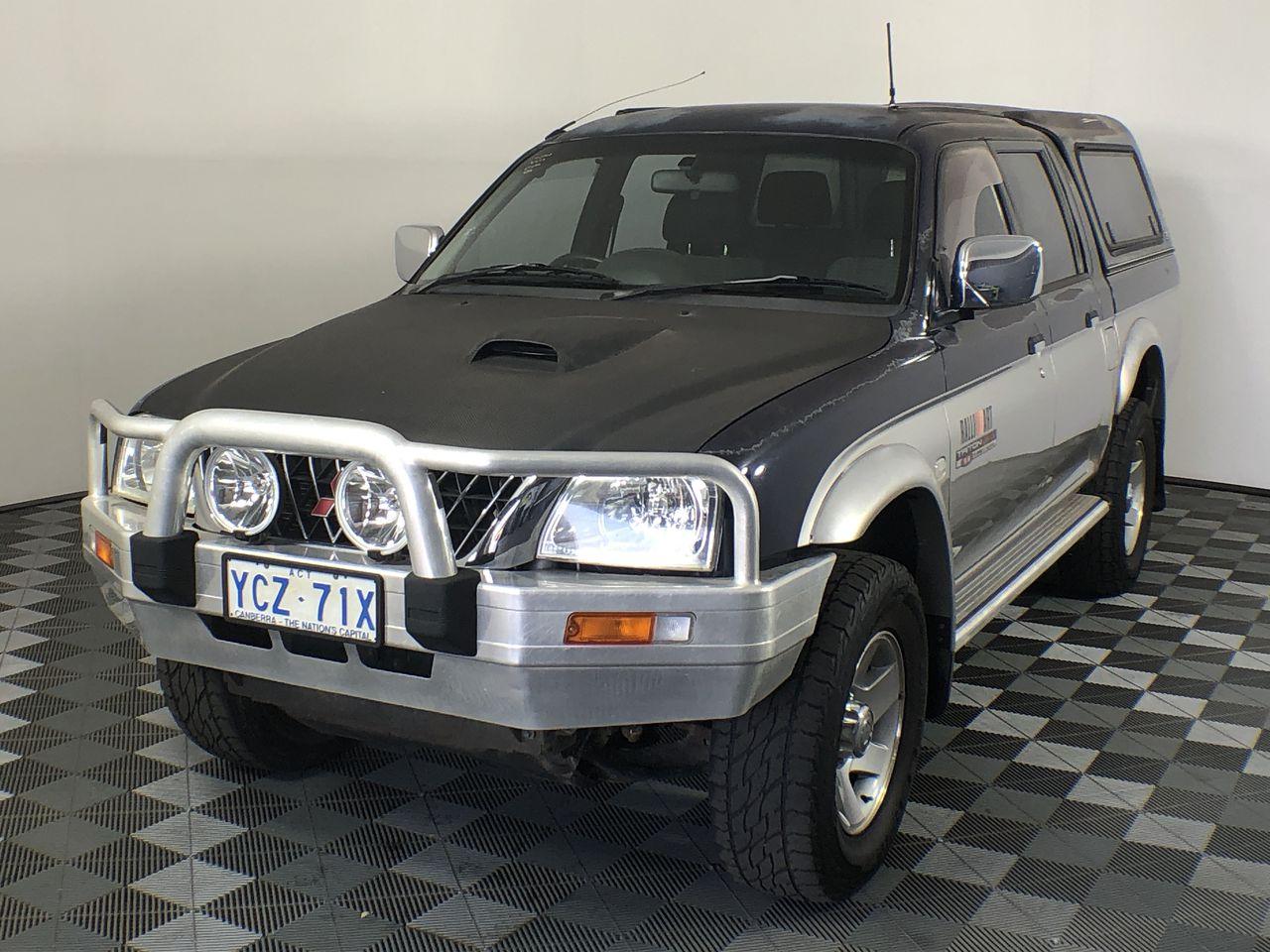2003 Mitsubishi Triton GLS (4x4) MK Turbo Diesel Manual Dual Cab