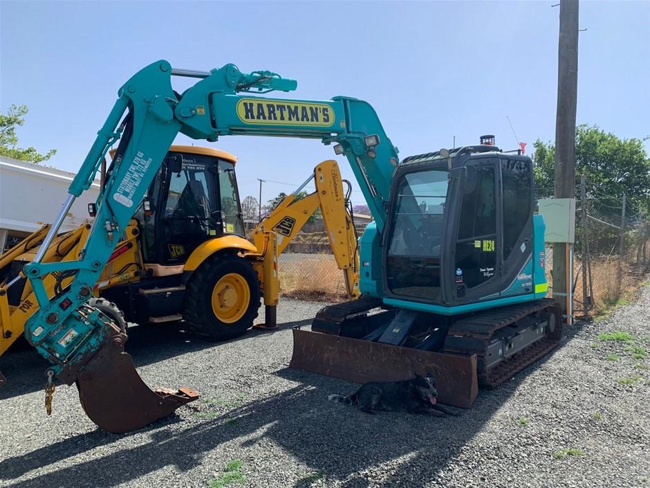 2013 Kobelco SK75 SR-3 Knuckle Boom Hydraulic Excavator