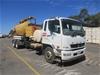 2012 Mitsubishi Fuso FighterFM 600 2427 6 x 4 Vacuum Truck