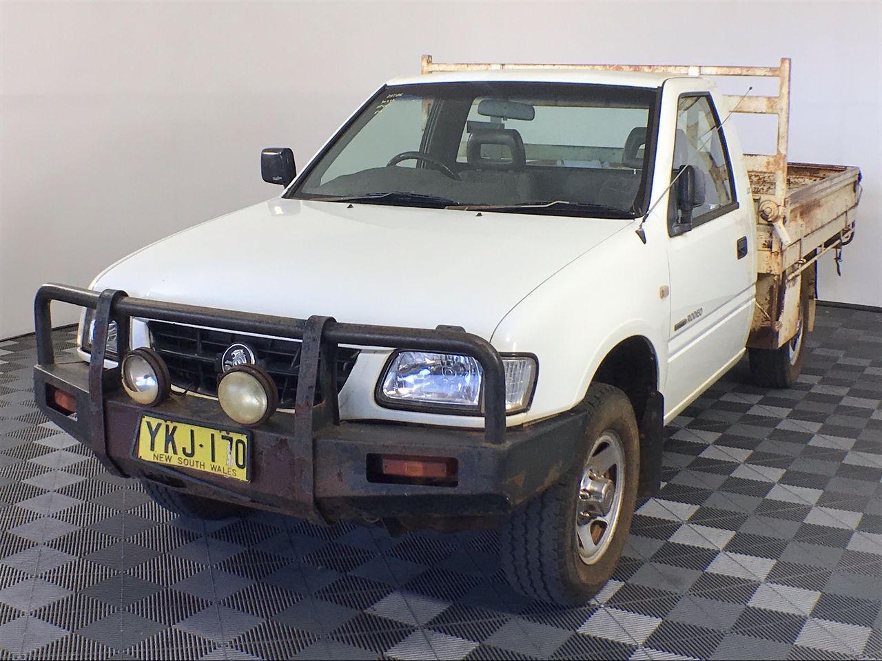 2002 Holden Rodeo LX R9 Manual Cab Chassis