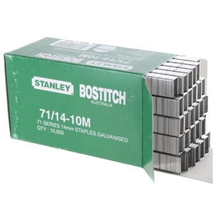 10 x Packs of 10,000 STANLEY BOSTITCH St