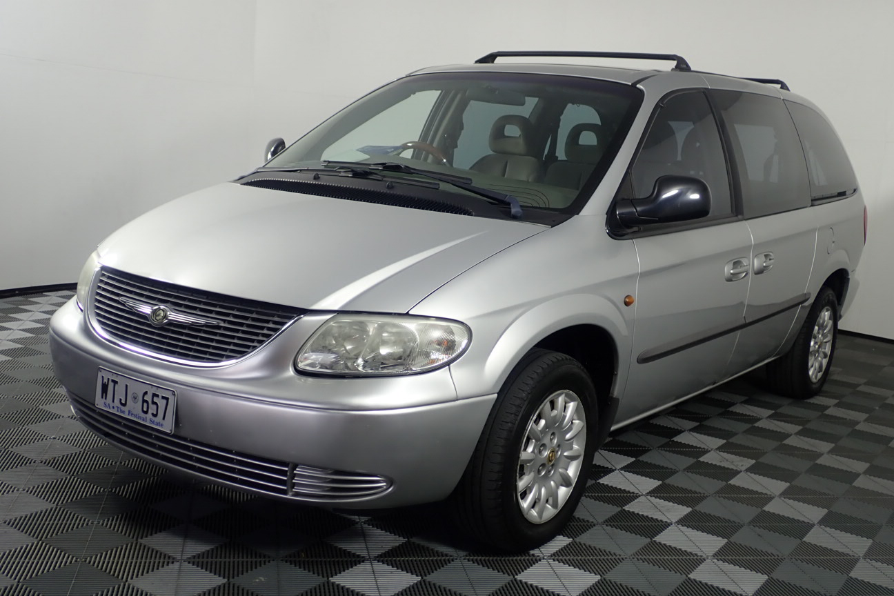 2002 Chrysler Grand Voyager SE RG Automatic 7 Seats People Mover