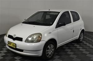 2000 Toyota Echo Manual Hatchback