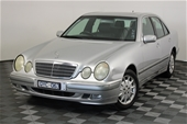 Unreserved 2001 Mercedes Benz E240 Elegance W210