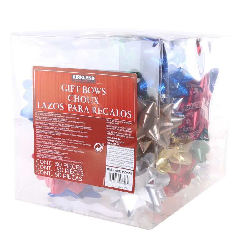 2 x Packs of 50 x Assorted Gift Bows. (SN:1900298-K2) (267514-204)