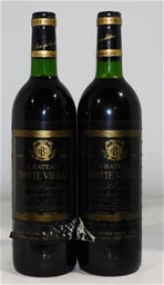 Chateau Trotte Vieille Saint-Emilion Grand Cru Classe 1982 (2x 750ml)