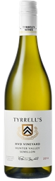 Tyrrell's `HVD Single Vineyard` Semillon 2014 (6 x 750mL) Hunter Valley
