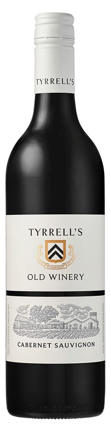 Tyrrell's `Old Winery` Cabernet Sauvignon 2018 (6 x 750mL), Wine of Aus