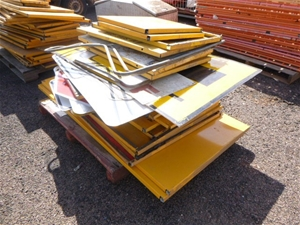 Large Quantity of Assorted Road Work Sig