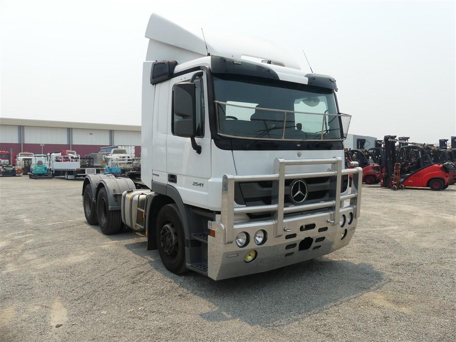 2013 Mercedes Benz Actros Prime Mover Truck