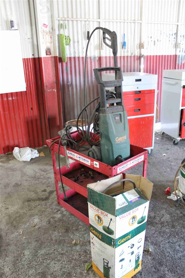 Mobile Workshop Parts Trolley