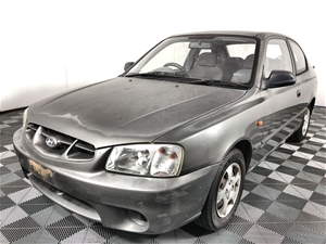 2001 Hyundai Accent GL Hatchback, 96,461