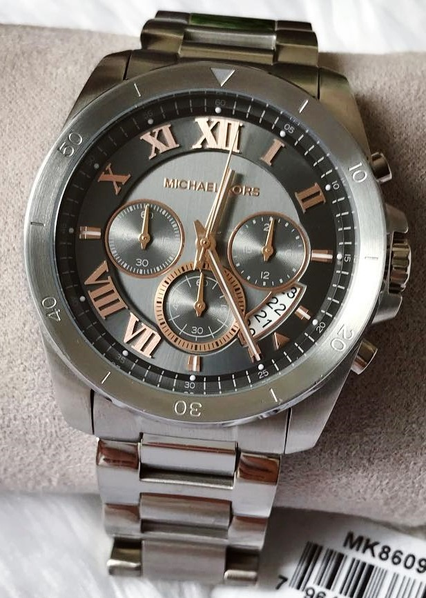 Powerful looking Michael Kors Couture NY 'Brecken' men's chronograph watch