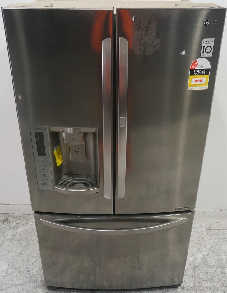 LG GF-D613PL 613L French Door Fridge