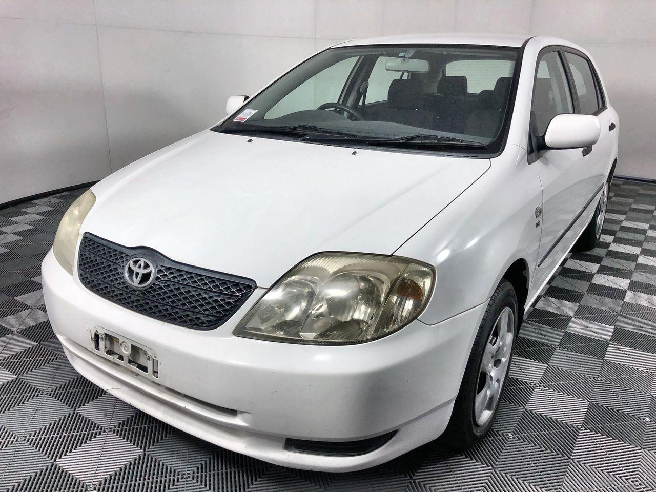 2003 Toyota Corolla Ascent Seca Hatchback