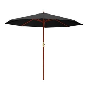 Instahut 3M Outdoor Pole Umbrella Cantil