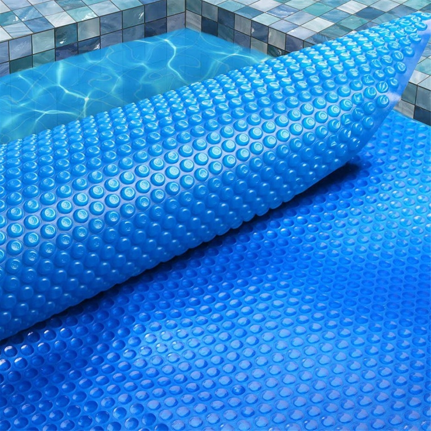 Aquabuddy 8M X 4.2M Solar Swimming Pool Cover 400 Micron Outdoor Bubble