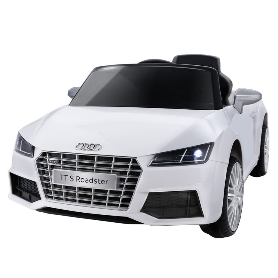 Audi Licensed Kids Ride On Cars Electric Car Children Toy Battery White