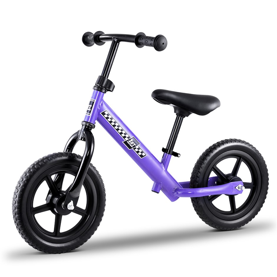 "Kids Balance Bike Ride On Toys Puch Bicycle Wheels Toddler Baby 12"" Bikes"