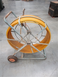 Fibreglass Cable Snake Rodder with Stand