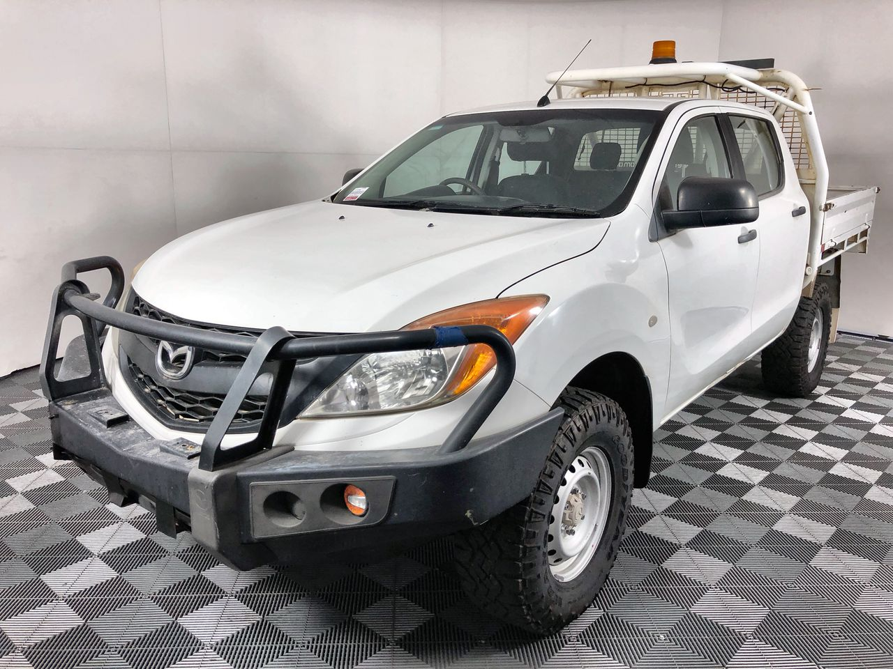 2012 Mazda BT-50 4X4 XT Turbo Diesel Automatic Dual Cab Chassis