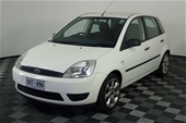 Unreserved 2005 Ford Fiesta LX WP Manual Hatchback