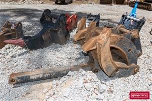 Pro Excavator Grab Attachment