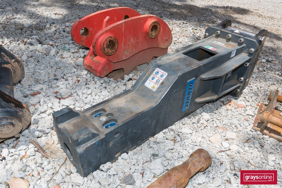 2018 Hammer HM1900 Excavator Hydraulic Hammer Attachment (New)