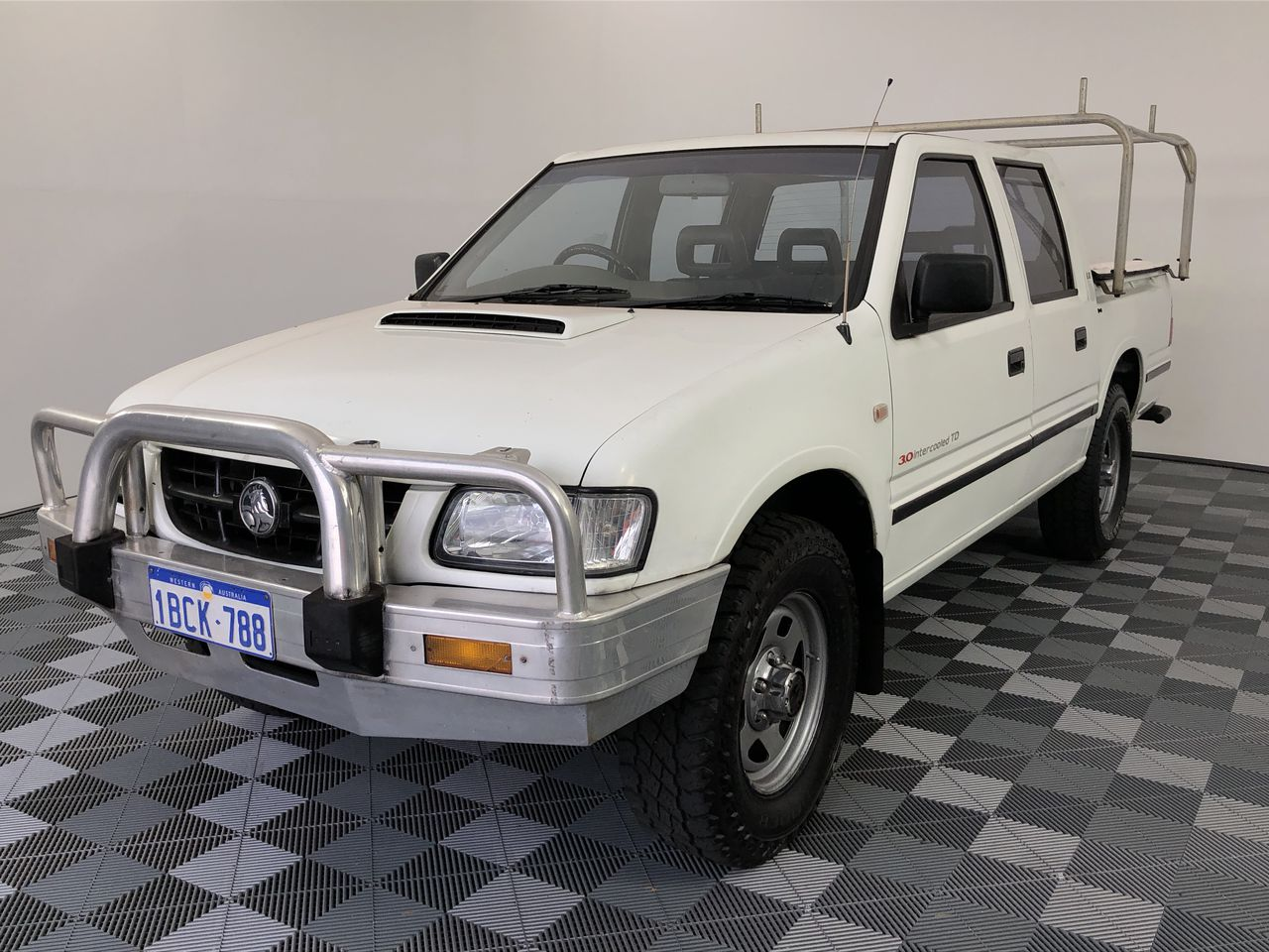 2002 Holden Rodeo LX (4x4) R9 Turbo Diesel Automatic Dual Cab