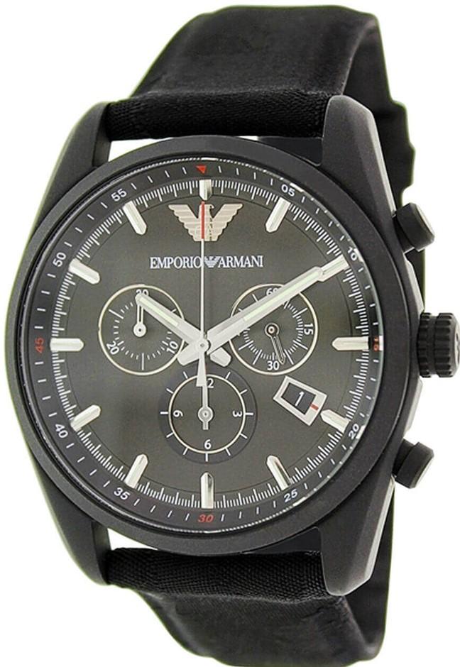 Stylish New Emporio Armani Sport Chronograph Men's Watch.