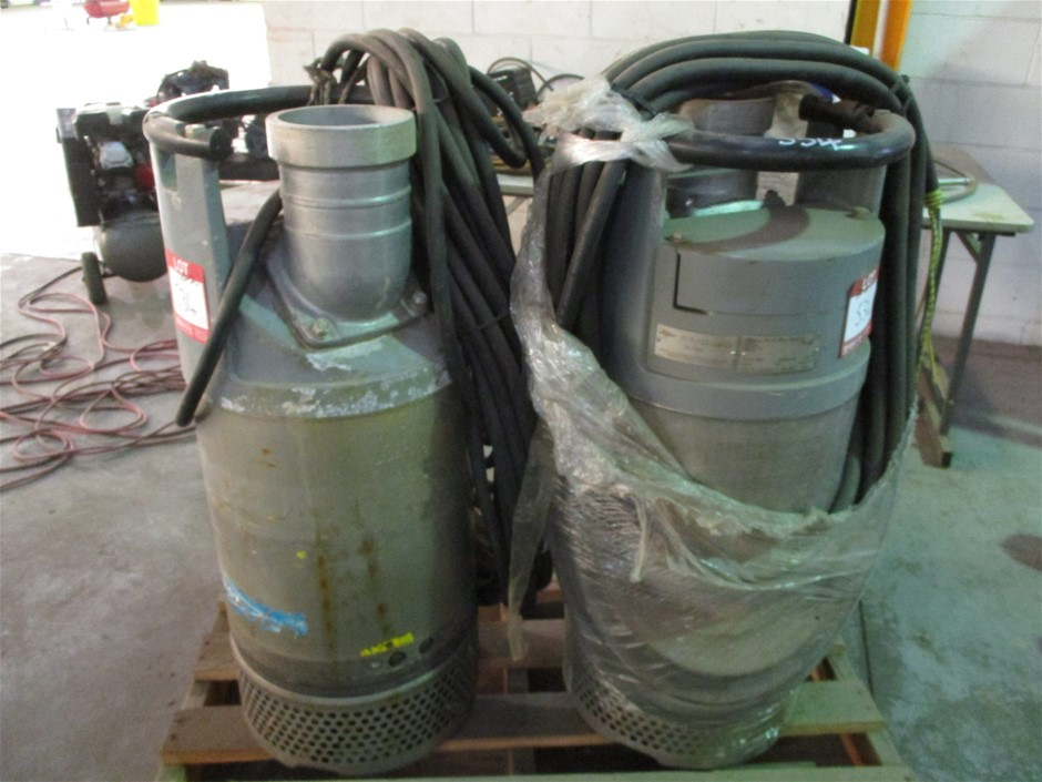 2x Flygt Submersive Pumps