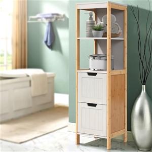 Artiss Bathroom Cabinet Tallboy Furnitur
